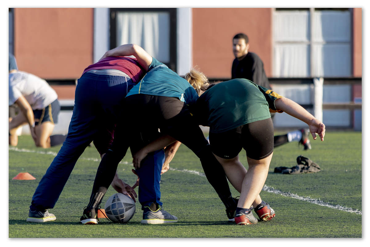 pas à trois @ us rugby capitolina. roma
